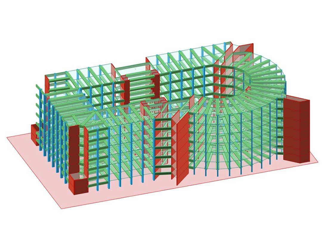 calcoli strutturali autocad