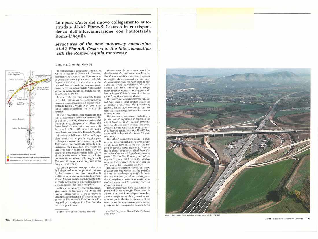 collegamento autostradale ingegneria