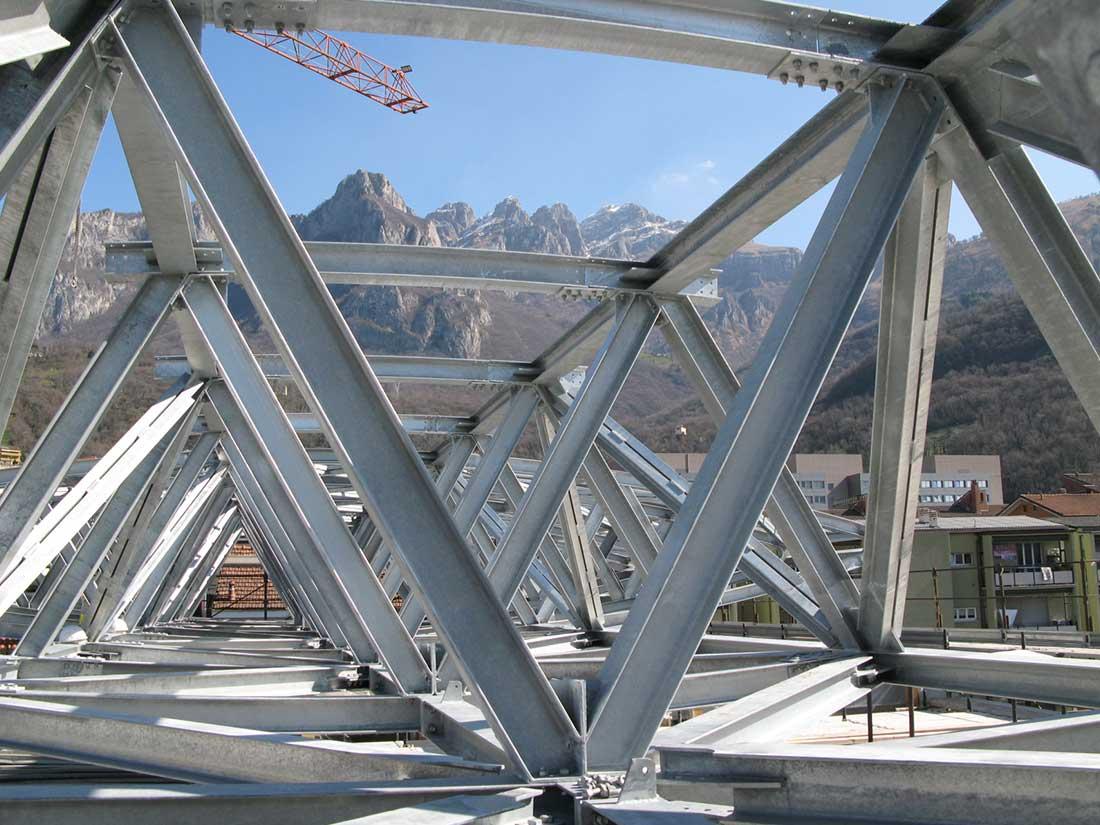 strutture acciao ingegneria