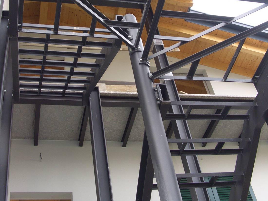 strutture acciao scale